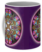 Illusion Of Self Mandala Coffee Mug