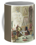 Illustration From Visitation Of A London Exquisite To His Maiden Aunts In The Country Coffee Mug