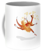Illustration Of A Ballerina Dancing Coffee Mug