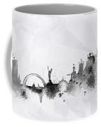Illustration Of City Skyline - Kiev In Chinese Ink Coffee Mug