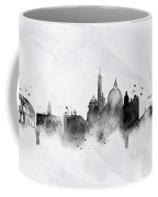 Illustration Of City Skyline - Rome In Chinese Ink Coffee Mug