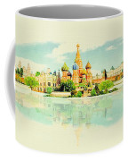 Illustration Of Moscow In Watercolour Coffee Mug