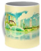 Illustration Of Singapore In Watercolour Coffee Mug