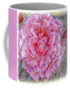 Illustration Rose Pink Coffee Mug