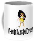 I'm Depressed It's Raining Coffee Mug