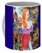 I'm Just Drawn That Way --v.2 -- Jessica Rabbit Portrait Coffee Mug