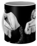 Im Too Tired, Nude Model, 1928 Coffee Mug