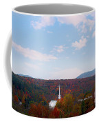 Image Included In Queen The Novel - New England Church Enhanced Coffee Mug