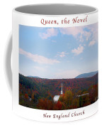 Image Included In Queen The Novel - New England Church Enhanced Poster Coffee Mug