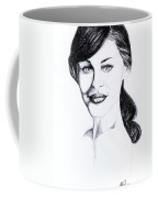 Imaginative Portrait Drawing  Coffee Mug