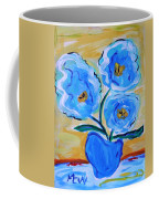 Imagine In Blue Coffee Mug
