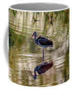 Immature White Ibis At Sunrise Coffee Mug