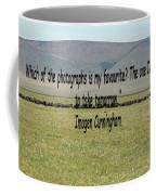 Imogen Cunningham Quote Coffee Mug