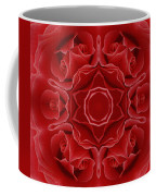 Imperial Red Rose Mandala Coffee Mug