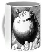 Imperialism Cartoon, 1876 Coffee Mug by Granger