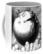 Imperialism Cartoon, 1876 - To License For Professional Use Visit Granger.com Coffee Mug