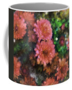 Bronze And Pink Mums Coffee Mug