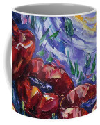 Impressionist Field Poppies Coffee Mug