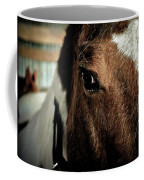 In A Horse's Eye Coffee Mug