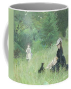 In A Park Coffee Mug by Berthe Morisot