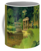 In A Park Coffee Mug by Edouard Manet