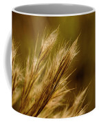 In An Autumn Field - Golden Macro Coffee Mug