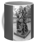 In Celebration Of Family Black And White  Coffee Mug