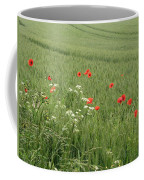 in Flanders Fields the  poppies blow Coffee Mug