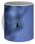 In Flight At Dusk Coffee Mug