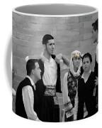 In Greek Discussion Coffee Mug