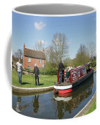 In Papercourt Lock On The Wey Navigations Coffee Mug