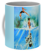 In Sync Coffee Mug by Hanne Lore Koehler