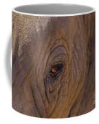 In The Eye Of The Elephant Coffee Mug