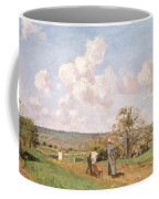 In The Fields Coffee Mug by Camille Pissarro