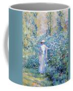 In The Flower Garden 1900 Coffee Mug