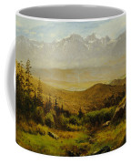 In The Foothills Of The Rockies Coffee Mug by Albert Bierstadt