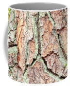 In The Forest Art Series - Tree Bark Patterns 1  Coffee Mug