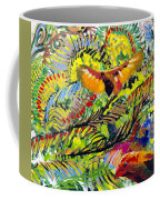 Birds In The Forest Coffee Mug