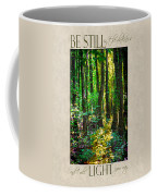 In The Forest With Words Coffee Mug
