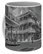 In The French Quarter - 3 Bw Coffee Mug