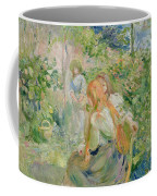 In The Garden At Roche Plate Coffee Mug by Berthe Morisot