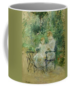 In The Garden Coffee Mug by Berthe Morisot