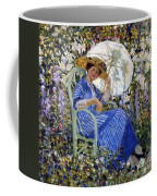 In The Garden Coffee Mug by Frederick Carl Frieseke