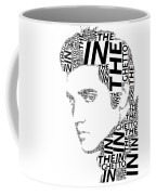 In The Ghetto Elvis Wordart Coffee Mug