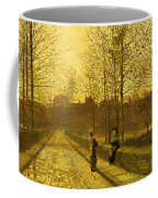 In The Golden Gloaming Coffee Mug by John Atkinson Grimshaw
