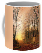 In The Golden Olden Time Coffee Mug by John Atkinson Grimshaw