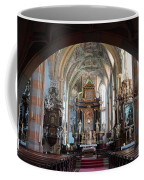 In The Gothic-baroque Church Coffee Mug