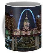 In The Heart Of St Louis Coffee Mug