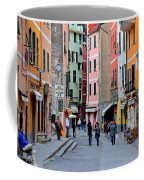 In The Heart Of Town Coffee Mug