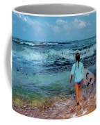 In The Hope Of A Big Wave Coffee Mug